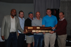 Sihle Mooi and Fourie van der Merwe with the winning Team from Gold Fields